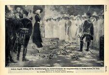 Kaiserin Auguste Viktoria Deutsch- Carstnitz bei Stolp bei der Grundstein...1912