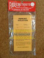 Blue Panda 100-Sheet Fake Parking Tickets Ticket Prank Gag Gifts Great for