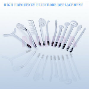 High Frequency Electrode Replace Violet / Orange Light Glass Tube Element Part