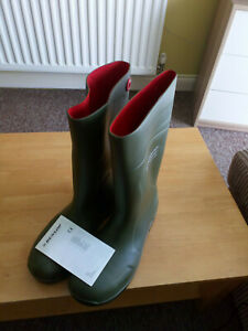 Dunlop Purofort Wellingtons - Steel Toe Size 46/11