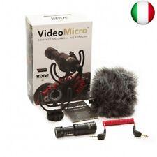 Rode Videomicro Microfono per Fotocamera Compatto