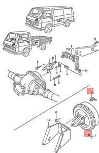 Genuine Volkswagen Non-Return Valve NOS Audi 4000 quattro 5000 80 90 191611933F