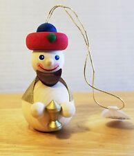 Baumbehang Christmas Ornament Wood Handmade German Richard Glaesser Seiffen New