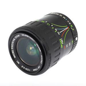Rare VIVITAR 28-70mm f/3.5-4.5 Zoom Lens for Pentax - Excellent