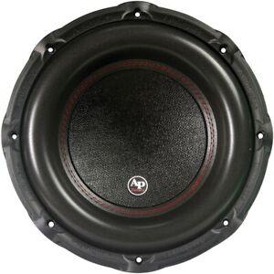 "Audiopipe TXXBDC315D2 15"" Dual 2 Ohm Vc's Woofer 2400w"