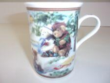Danbury Mint Boyds Bear Skatin Pond Coffee Cup Mug NEW