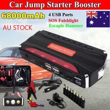 68800mAh Portable Car Jump Starter 12V Booster Laptop Power Bank Battery Charger