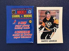 1987-88 OPC Mini #23  Mario Lemieux HOF Penguins  NM/MT  Pack Fresh!