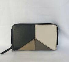 The Sak Silverlake Leather Zip Around Wallet Wristlet BNWT Free Shipping