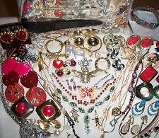 Antique Vintage Now ESTATE Jewelry VICTORIA SECRET, Rhinestones  + More LOT # EQ
