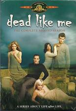 Dead Like Me - 2nd Season complete 4 DVD set - Stewart Copeland music Police