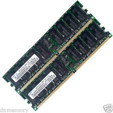4 Gb 2x2 Gb Servidor Ram Pc2-3200r Ddr2 400mhz Cl3 240pin Ecc Registrada Hp Dell Ibm