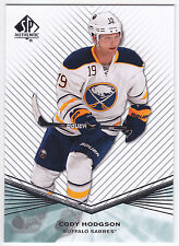 Cody Hodgson 2011-12 SP Authentic ROOKIE Extended #R7