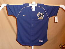 Milwaukee Brewers  JERSEY  by Nike  Youth Medium   NWT