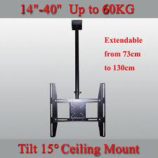 """LCD LED PLASMA TV CEILING MOUNT BRACKET for 14-40"""" TV"""