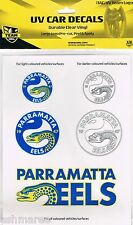 NRL Parramatta Eels UV Car Tattoo iTag Sticker Decal