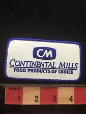 Vtg CONTINENTAL MILLS FOOD PRODUCTS Uniform Or Advertising Patch C762