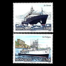 "Monaco 2017 - Ships ""Yersin & Calypso"" - MNH"