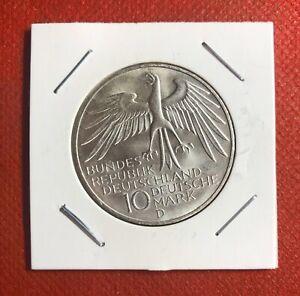 1972 GERMANY 10 MARK D SILVER OLYMPICS FC#6