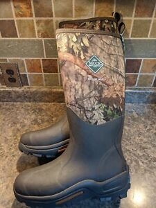 NWOB Muck Woody Max Boot Mossy Oak Country Size 10