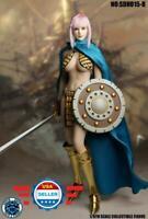 "SUPERDUCK 1/6 Female Head Sculpt SDH015 B for 12"" PALE PHICEN TBL Figure Doll"