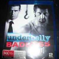 Underbelly Badness (Uncut) (Australia Region B) Bluray - NEW