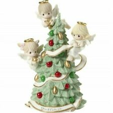 Precious Moments Gloria in Excelsis Deo Figurine 3 Angels 181012 Limited Ed.