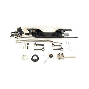 Unisteer 1967-70 Ford Mustang Power Steering Rack Pinion Bolt On Kit 8010830-01