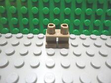 Lego mini figure 1 Dark Tan Short Legs NEW