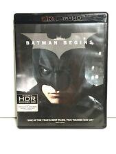 Batman Begins (4K Ultra Hd and Bluray) No Digital