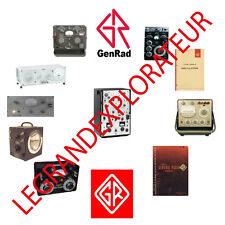 Ultimate General Radio Company  GenRad  Operation Repair & Service manual s  DVD