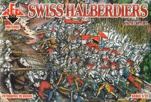 Red Box 1/72 Swiss Halberdiers 16th Century # 72062