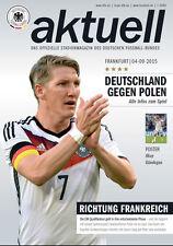 EM-Qualifikation 04.09.2015 Deutschland - Polen in Frankfurt