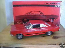 1:18 GMP - 1967 FORD FAIRLANE GT ROUGE - RARE