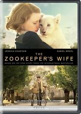The Zookeeper's Wife (DVD, 2017) SHIPS IN 1 BUSINESS DAY W/TRACKING