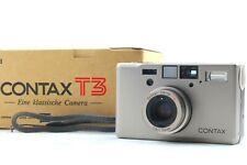 【NEAR MINT+++ w/Box】Contax T3 Single Teeth 35mm Point & Shoot Film Camera Japan