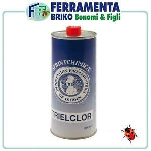 Trielina Pura Lt 1 Kg 1 Sgrassante Smacchiatore Tessuti Moquette Pellami Acciaio