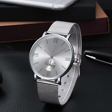 Luxury Women Stainless Steel Watches Crystal Analog Quartz Bracelet Wrist Watch