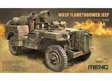 Meng Model 1/35 VS-012 kit modelo de avispa lanzallamas Jeep