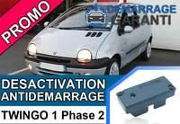 Clé de désactivation d'anti démarrage Renault TWINGO 1 PHASE 2