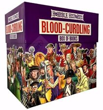 Horrible Histories Blood Curdling Collection 20 Books Box Set Brand new