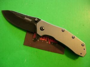 "NTSA KERSHAW ""MEDIAN""  4 1/4"" CLOSED FRAME LOCK POCKET KNIFE #1551 TI"