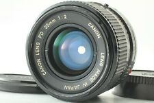 [Excellent+5] Canon New FD NFD 35mm f/2 Wide Angle MF Lens From Japan #482