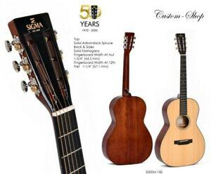SIGMA Gitarre S000M-18S Custom Adirondack Top /Mahagoni Korpus massiv AUSSTELLER