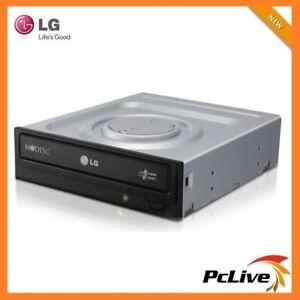 NEW 24X LG Dual Layer DVD CD Burner Writer Power2Go Internal SATA for Desktop PC