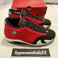 Nike Air Jordan 14 Toro XIV Size 11 Gym Red Retro 487471-006 NEW DS In Hand