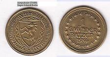 SCHWÄBISCH GMÜND (= Wappen Einhorn) 1 Gmünder Batzen 1984 Wertmarke Medaille