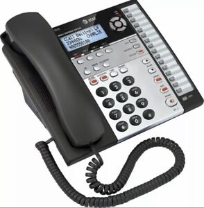 AT&T 1070 4 Line Corded Business Desk/Wall Phone w/ Caller ID