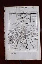 ✒ 1683 MANESSON MALLET Etat de la République de VENISE carte