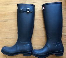 Hunter Women's Original Tall Rain Boots - Navy
